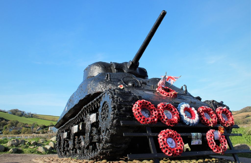 Coastal Road Trip, Slapton Sands, Tank, Torcross, Exercise tiger memorial, Sherman tank memorial,