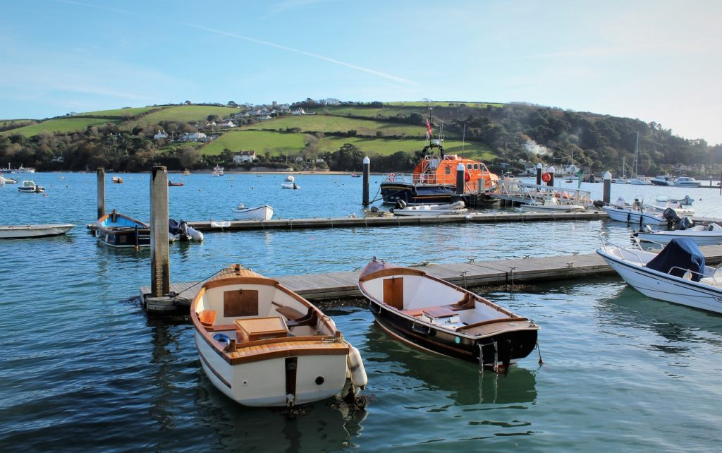 Coastal Road Trip, Salcombe, Harbour, Batson Creek, Lifeboat, East Portlemouth