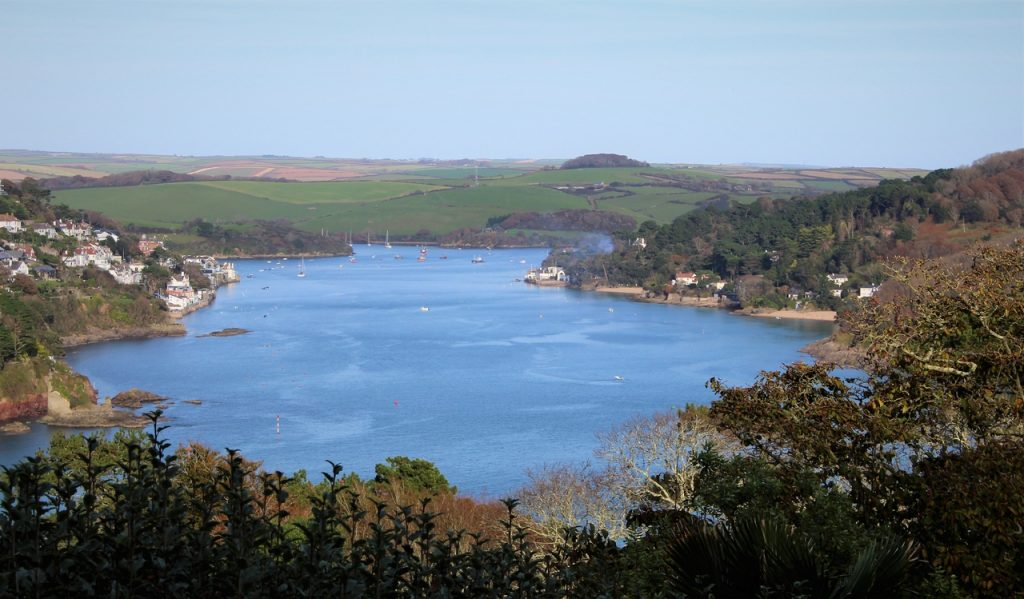 Coastal Road Trip, Overbecks, National Trust, Views to, Salcombe, East Portlemouth, Mill Bay, Kingsbridge Estuary