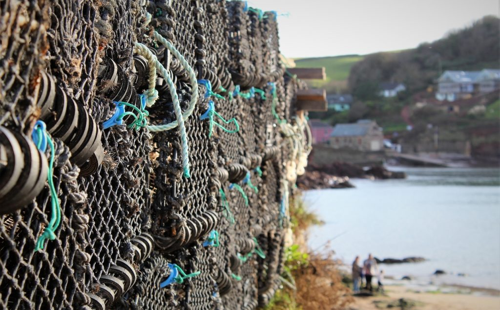 Coastal Road Trip, Hope Cove, Inner Hope, Lobster pots, Harbour