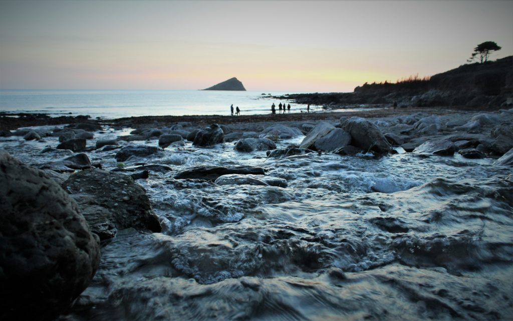 Coastal Road Trip, Wembury, Beach, Mill, National Trust, Stream, Sunset, Bay, Devon
