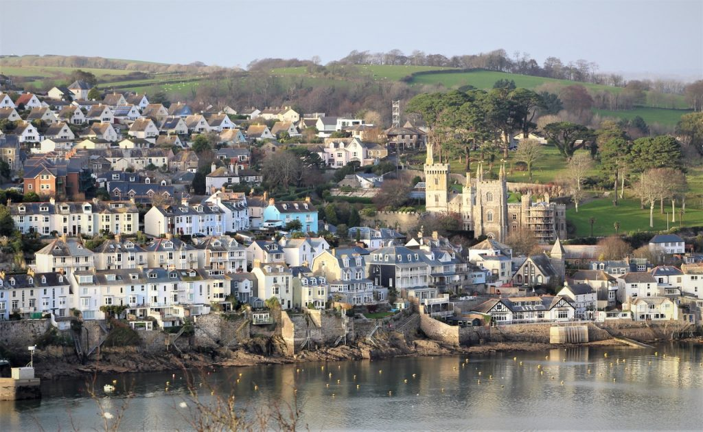 Coastal Road Trip, Fowey, River Fowey, Parish Church, view from Polruan