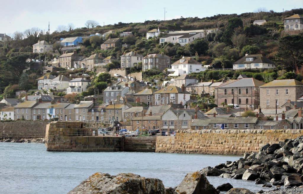Coastal Road Trip, Mousehole, Cornwall, Mount's Bay