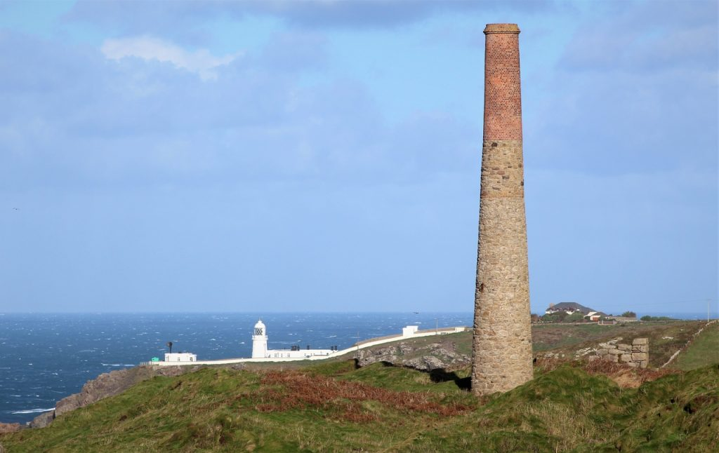 Coastal Road Trip, Pendeen Watch Lighthouse, Levant Mine, Cornwall