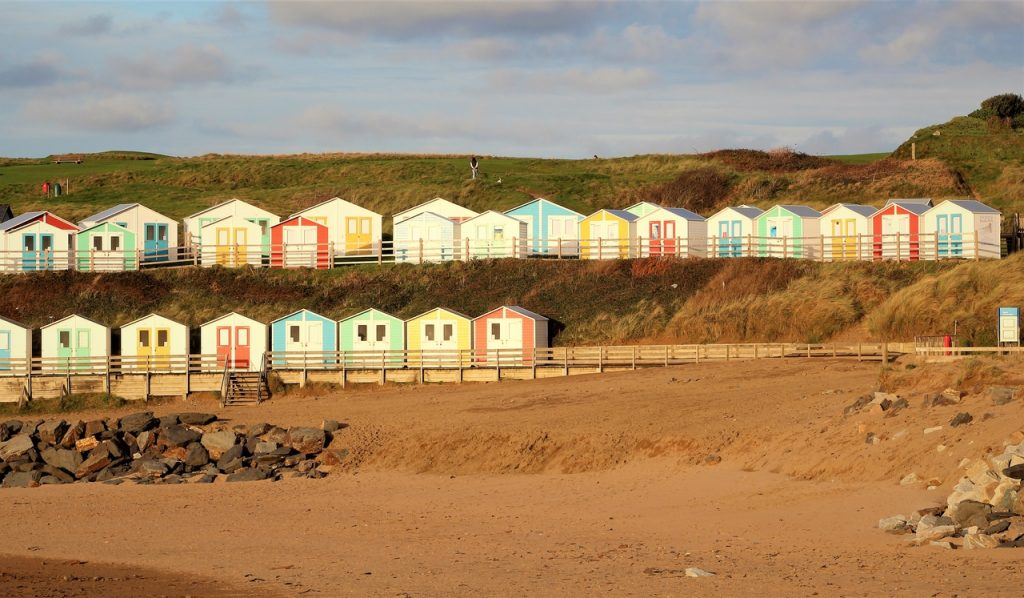 Coastal Road Trip, Bude, Beach Huts