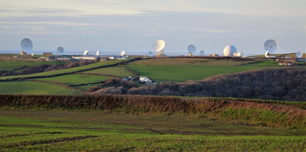 Coastal Road Trip, GCHQ Bude, Satellite Dishes