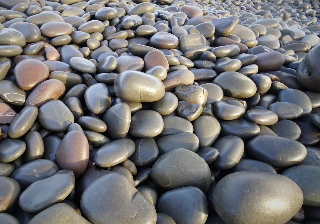 Coastal Road Trip, Westward Ho!, Beach, Big Pebbles