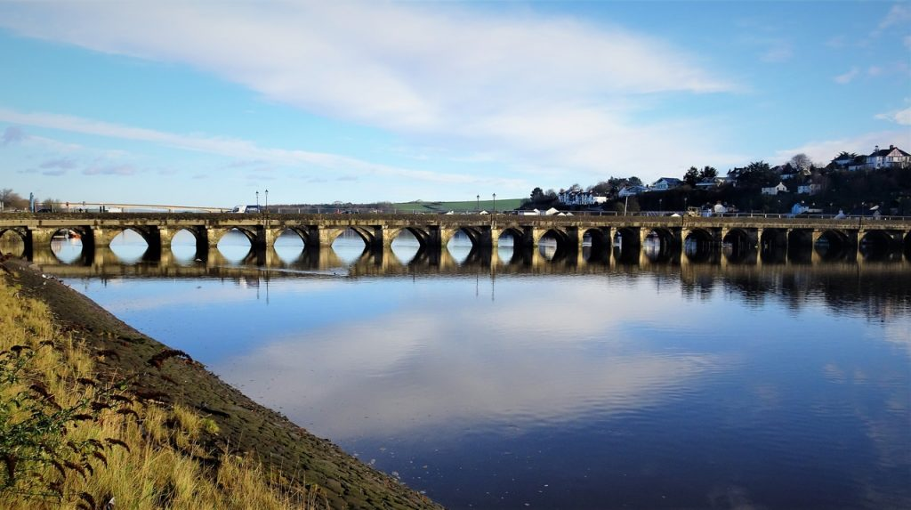 Coastal Road Trip, Bideford, River Torridge, Old Bideford Bridge