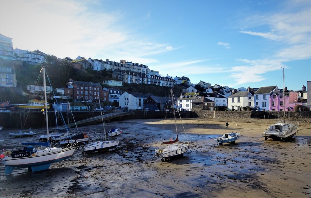 Coastal Road Trip, Ilfracombe, Harbour, Boats, Quay
