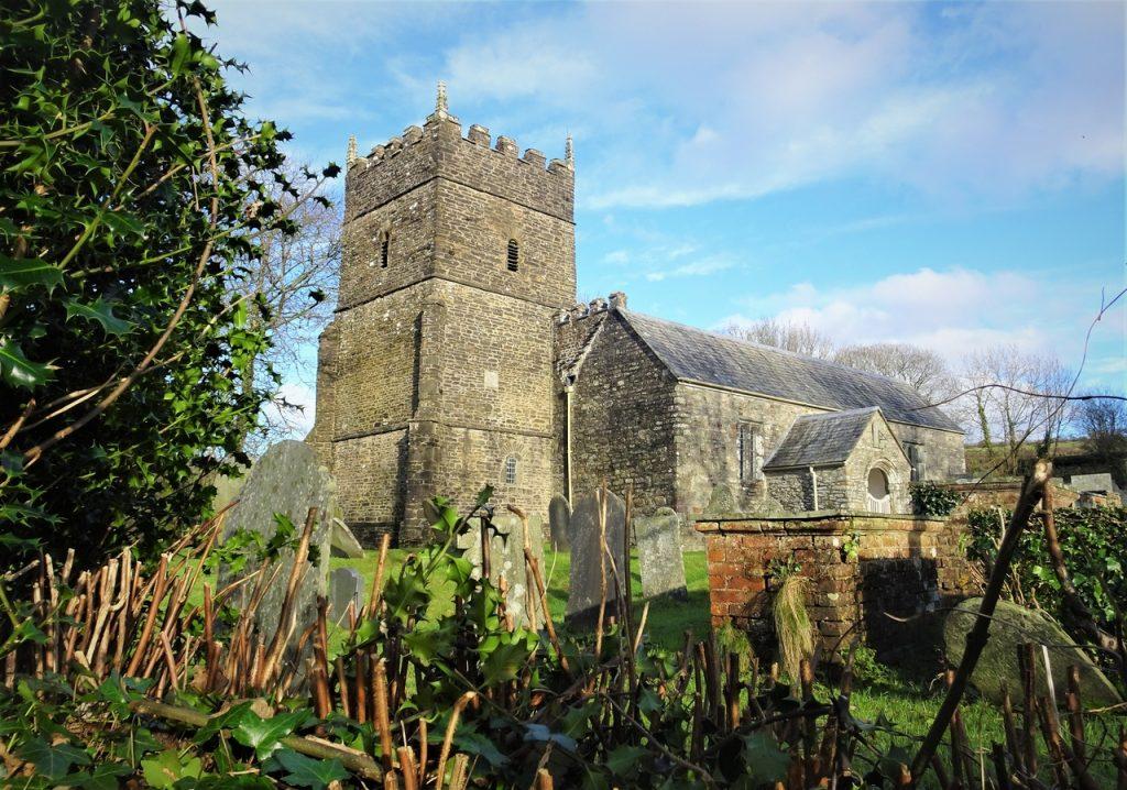 Coastal Road Trip, Parracombe, St Petrock's Church