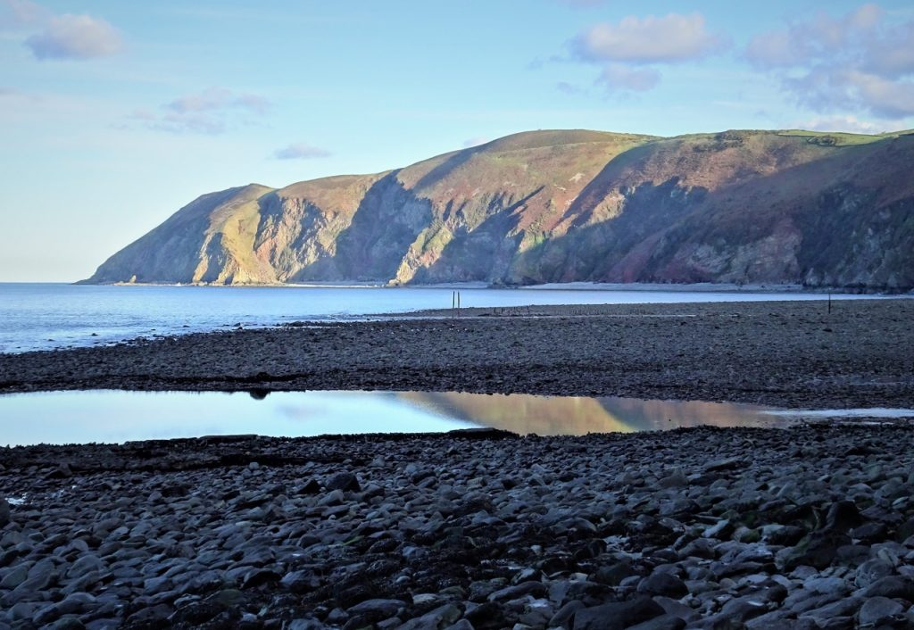 Coastal Road Trip, Lynmouth Bay, Foreland Point