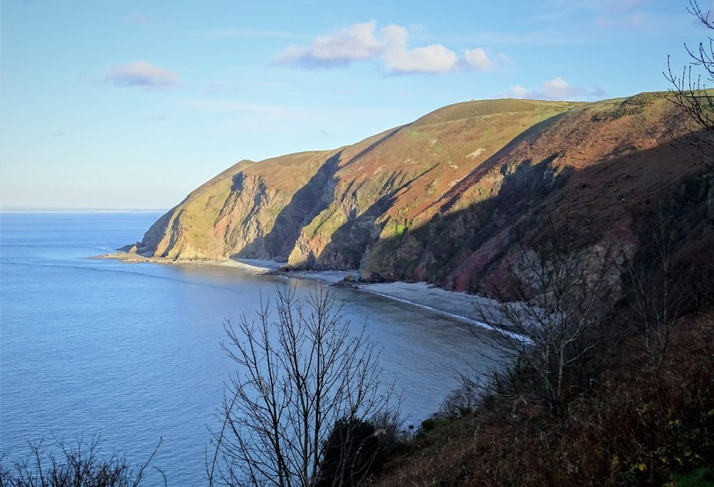 Coastal Road Trip, Lynmouth Bay, Foreland Point, Countisbury Hill