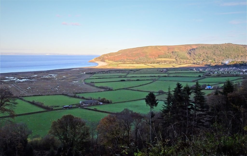 Coastal Road Trip, Porlock, Porlock Manor Estate, Toll Road, Views to Porlock Weir & Hurlstone Point