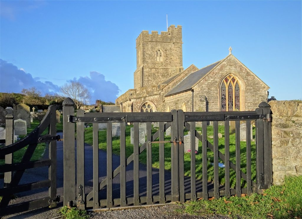Coastal Road Trip, Berrow, St Mary's Church