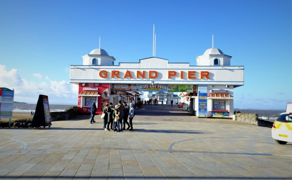 Coastal Road Trip, Weston-super-Mare, Grand Pier, Entrance