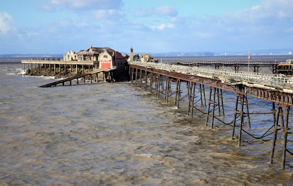 Coastal Road Trip, Weston-super-Mare, Birnbeck Pier, Abandoned