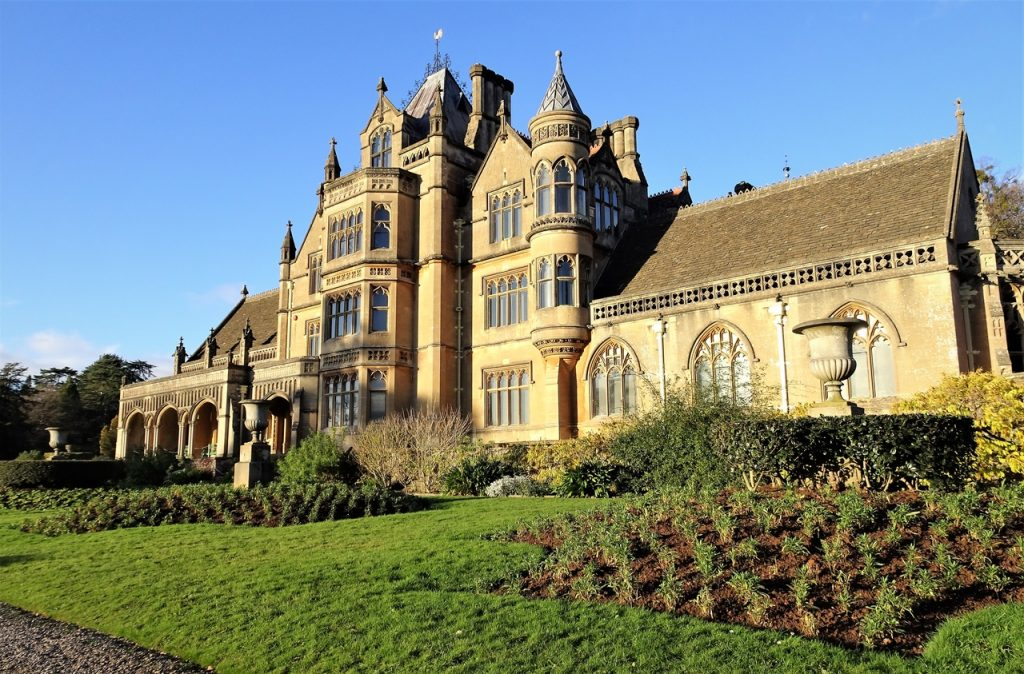 Coastal Road Trip, Tyntesfield, National Trust, Wraxhall, Sunny, Blue sky