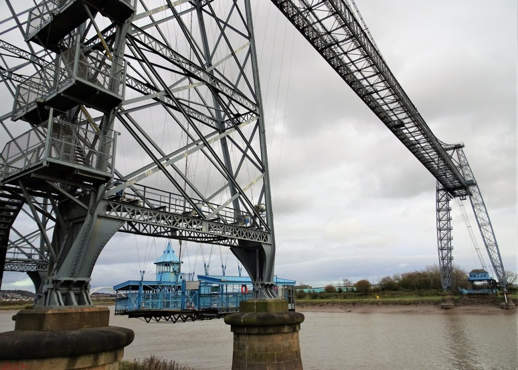 Coastal Road Trip, Newport Transporter Bridge