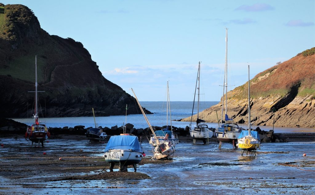 Coastal Road Trip, Watermouth Harbour, Yachts